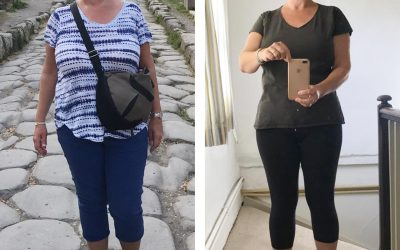 """My friends and GP have been amazed that I have LOST weight during my peri-menopause rather than piled it on!"""